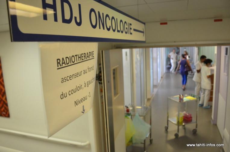 28 à 30 patients sont accueillis chaque jour au service d'oncologie du Taaone.