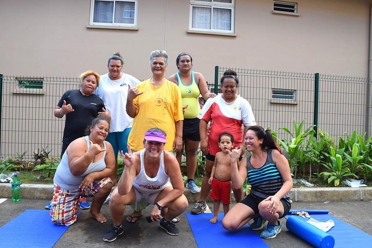 Les mamans du quartier Motio apprécient l'initiative.