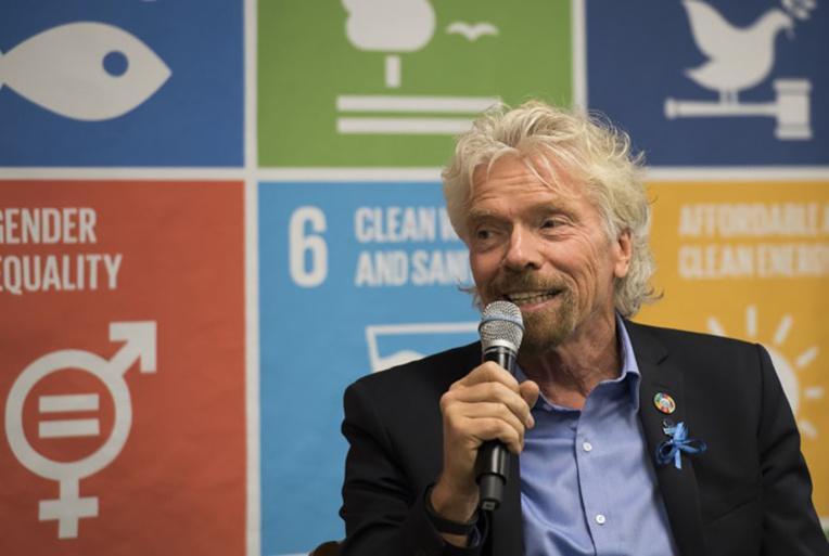 Le patron de Virgin pétitionne à l'ONU en faveur des océans