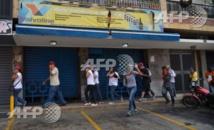 Manifestation anti-Maduro à Caracas dispersée par des gaz lacrymogènes