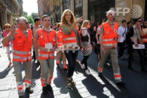 Lancement à Lille de la campagne annuelle de la Croix-Rouge