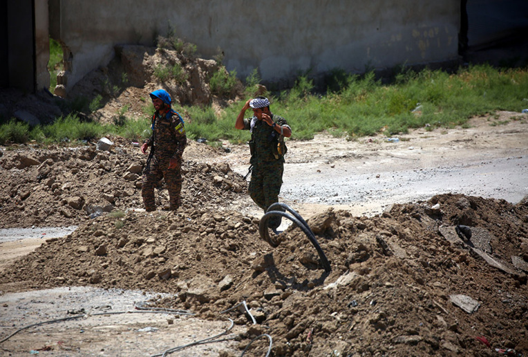 Syrie: la force anti-EI s'approche de la vieille ville de Raqa