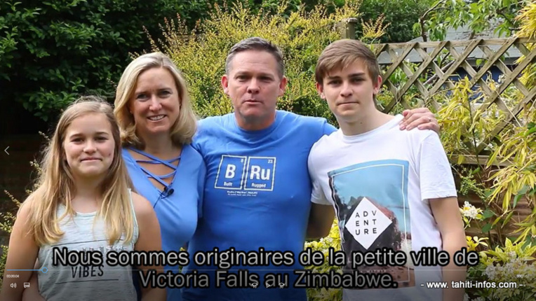 Une famille et deux couples expérimentent le Mana