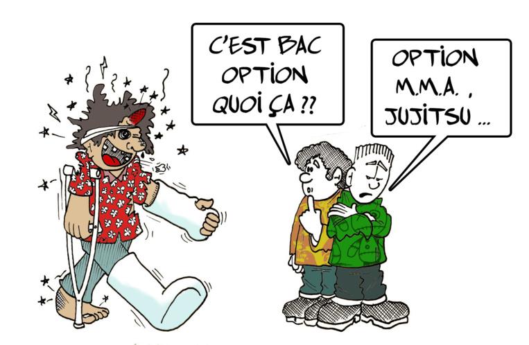 """"""" Le bac MMA """" par Munoz"""