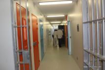 A l'intérieur de la prison de Papeari, lors de son inauguration officielle en mars.