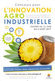 Un concours pour stimuler l'innovation agro-industrielle
