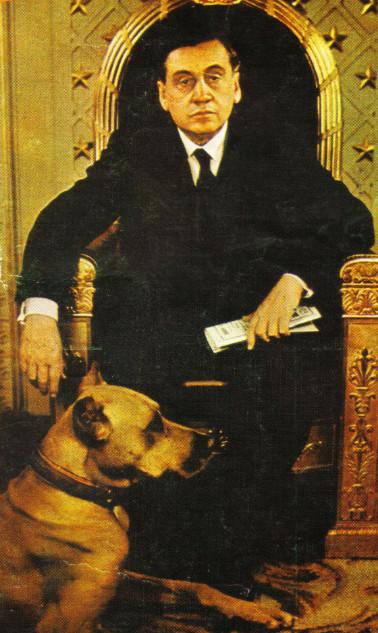 Le président Arturo Alessandri Palma photographié en 1932. Il venait d'être réélu et n'avait pas encore dans la tête de vendre l'île de Pâques aux Nippons…