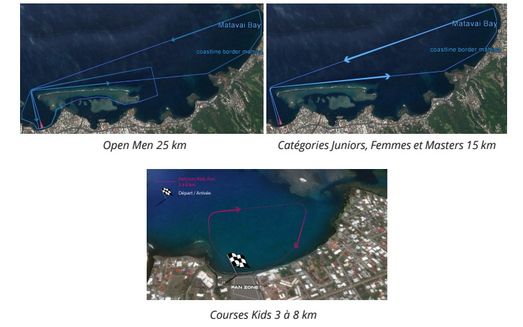 Fermeture de la pointe Vénus: la course du Te Aito modifie son parcours