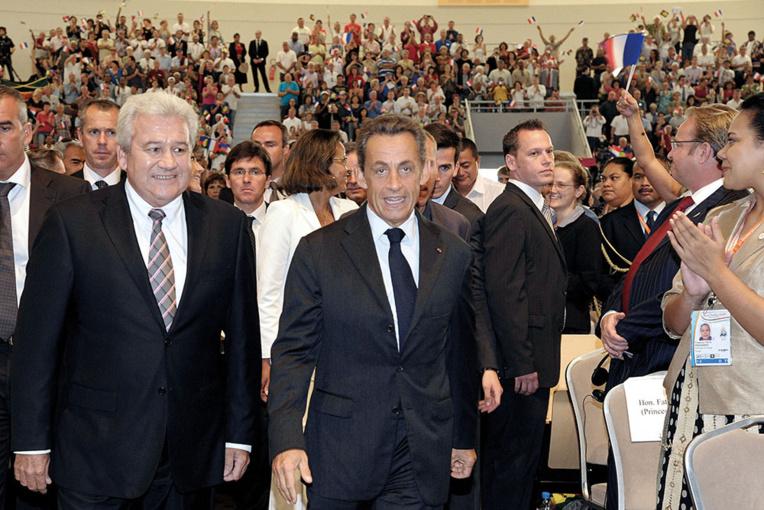 """Nouvelle-Calédonie: Sarkozy appelle à voter pour le candidat du """"maintien dans la France"""""""
