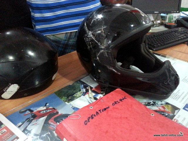 160 bons d'aide à l'achat d'un casque neuf ont été édités cette fois-ci pour un budget de plus d'1 million de francs, entièrement financé par le Comité des sociétés d'assurances opérant en Polynésie française (Cosada).