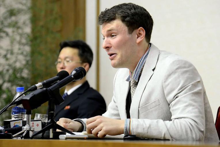 """Décès de l'étudiant libéré par Pyongyang, Trump dénonce un """"régime brutal"""""""