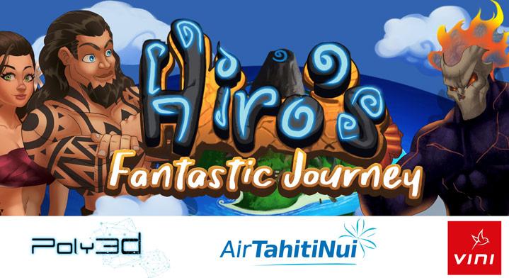"""""""La fantastique aventure de Hiro"""", première application mobile polynésienne de jeu vidéo"""