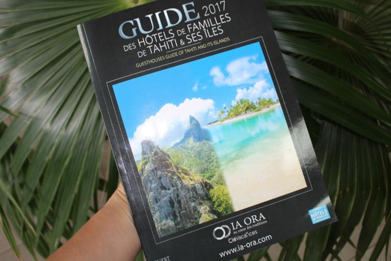 Le guide des hôtels de familles de Tahiti et des îles 2017 est disponible