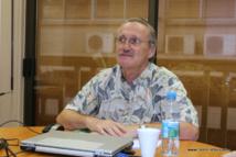Claude Périou est le directeur de l'IEOM en Polynésie française.