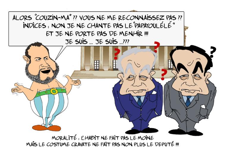 """"""" Moetai, le député décontracté à Paris """" par Munoz"""