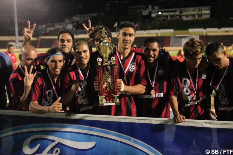 Temanava, finaliste de la Coupe de Tahiti Nui 2017