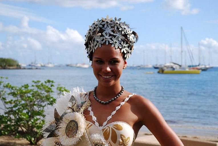 Poehere Hutihuti Wilson, Miss Tahiti 2010, est la présidente du jury cette année. (Photo : DR)