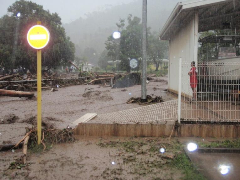 Les pluies diluviennes aux Marquises durent depuis le mois de mars.