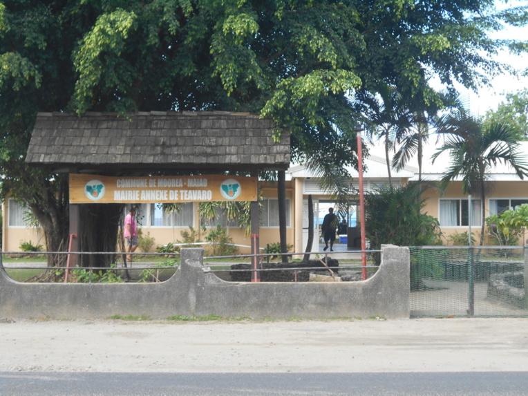 Le conseil municipal de Moorea s'est tenu ce vendredi à Teavaro.