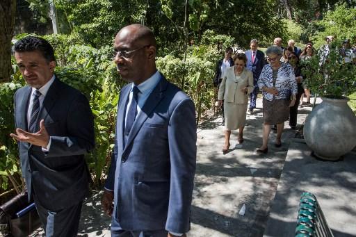 Le Conseil de Sécurité de l'ONU visite Haïti