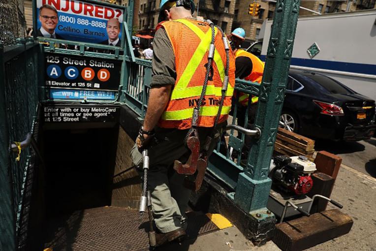 Déraillement dans le métro new-yorkais: une trentaine de blessés légers