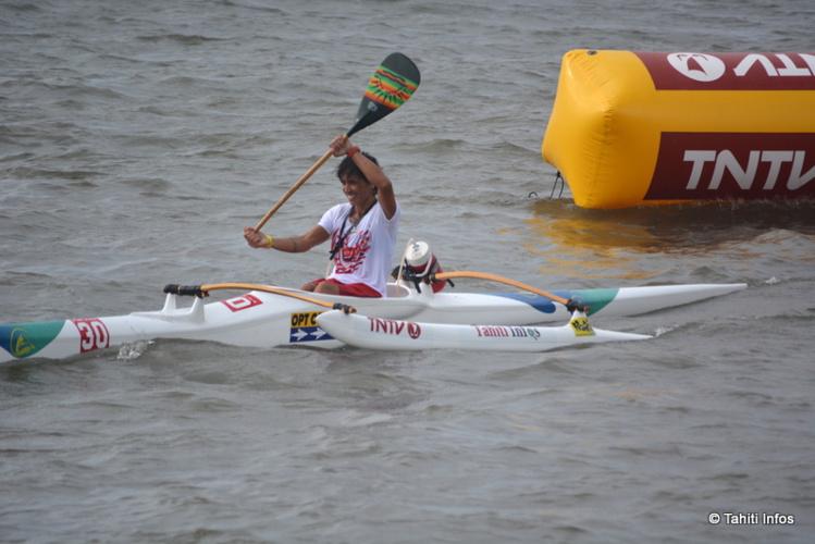 Les Tahitiennes remportent l'Open V6