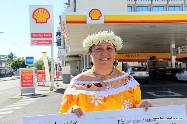 Madeleine et son fils en route pour Los Angeles grâce à Shell