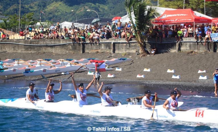 Hinatea Bernardino et son team ont offert la première médaille d'or à Tahiti