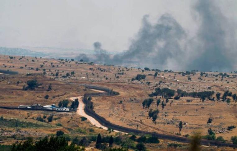 Un projectile tiré de Syrie atterrit dans le Golan occupé par Israël