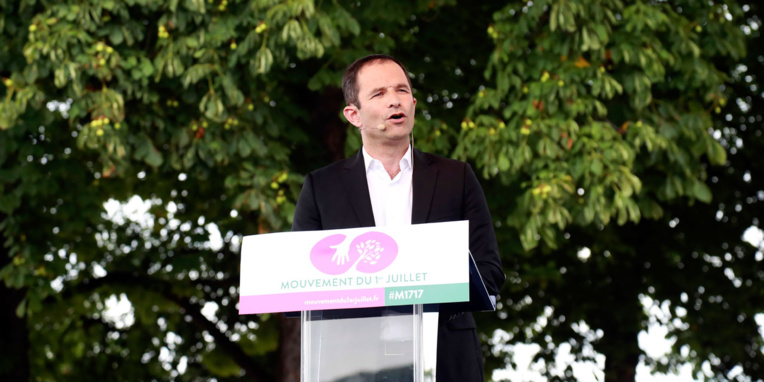 Benoît Hamon annonce son départ du Parti socialiste