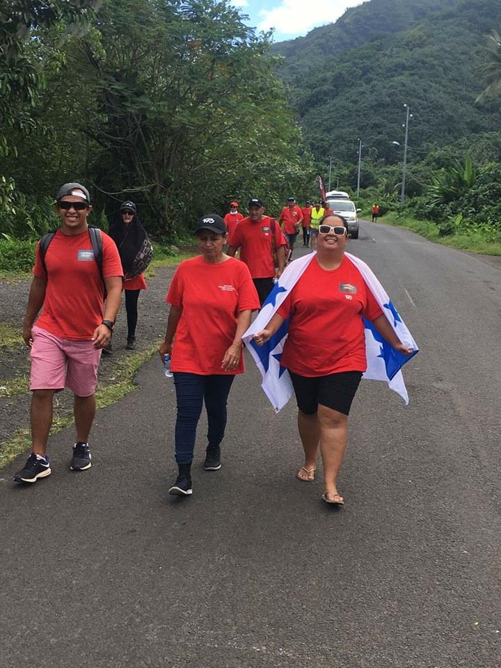 L'association 193 a organisé une marche pacifique la semaine dernière.