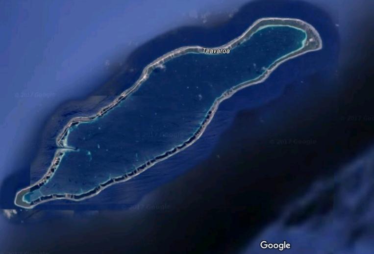 Takaroa. Photo : Google Maps