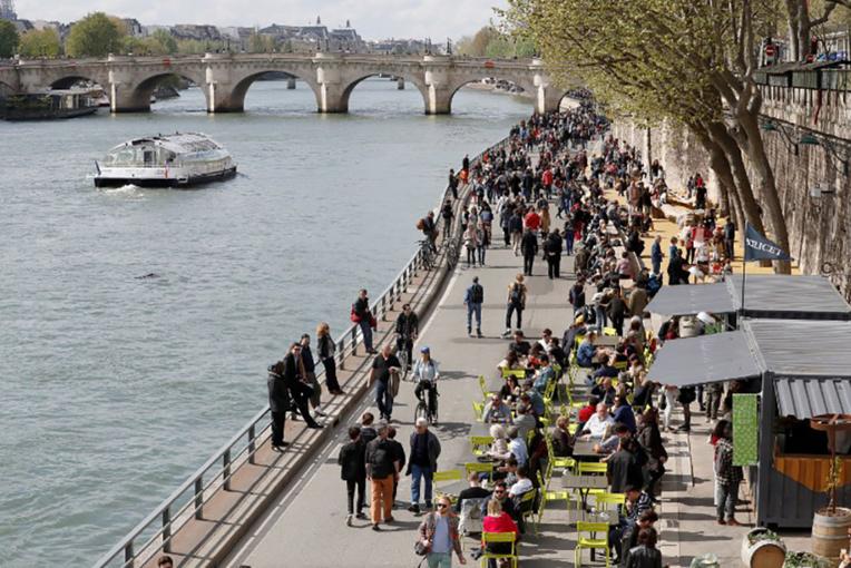 Se baigner dans la Seine, un rêve bientôt réalité ?