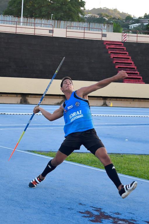 Teura Tupaia est désormais double champion de France cadet du lancer du javelot