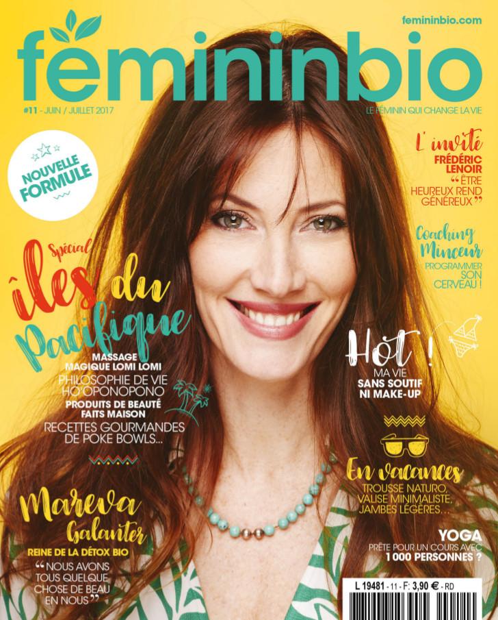 Les îles polynésiennes à la Une du magazine FémininBio