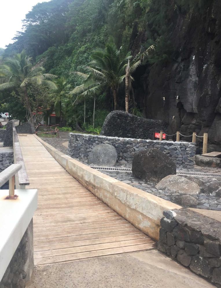 Tiarei : l'aménagement du Trou du Souffleur achevé en août