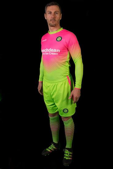 Un club anglais invente le maillot de foot qui déconcentre l'adversaire