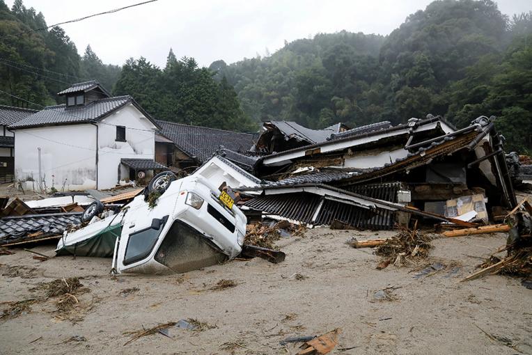 Japon : 20 morts dans des inondations