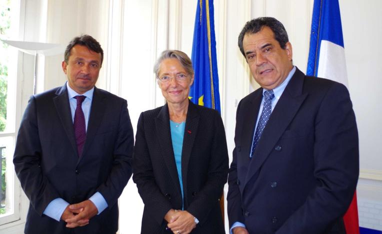 Paris : Edouard Fritch rencontre la ministre chargée des transports