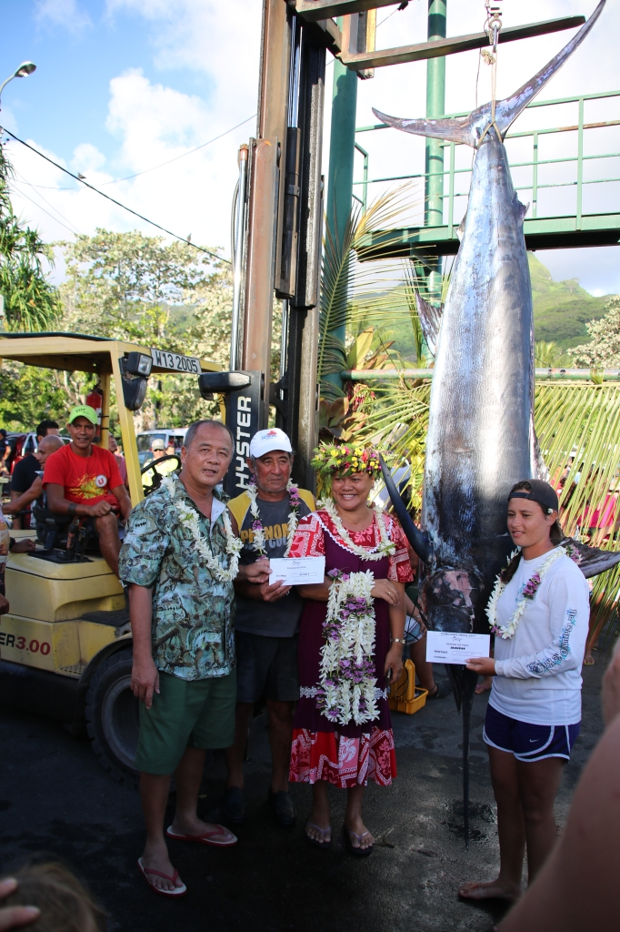 Heiva i Huahine : Manu Oopa remporte le concours de pêche en haute mer
