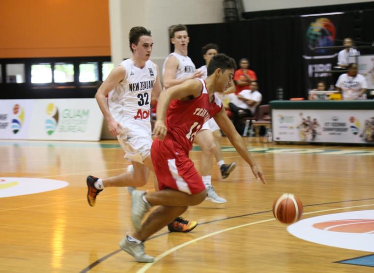 Basket - Oceania U17 : Large victoire 97-36 contre les îles Marshall