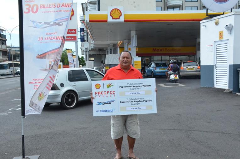 Jeu Shell-Pacific 2 : un nouveau gagnant ira à Los Angeles