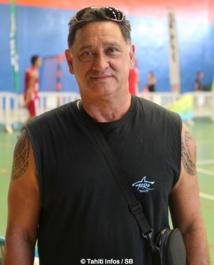 Abel Temarii, président de la fédé