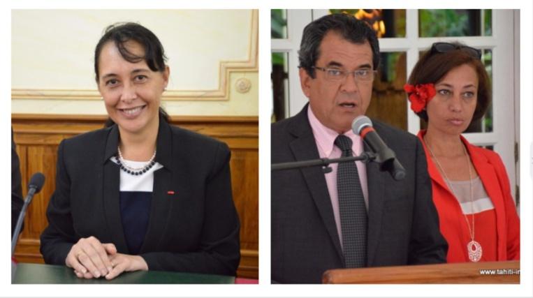 Le ministère de l'Education a été confié à Tea Frogier, tandis qu'Edouard Fritch a gardé celui de la Jeunesse et des Sports, suite à la démission de la néo-députée Nicole Sanquer.