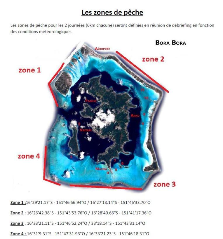 Bora Bora accueille le championnat de pêche sous-marine 2017