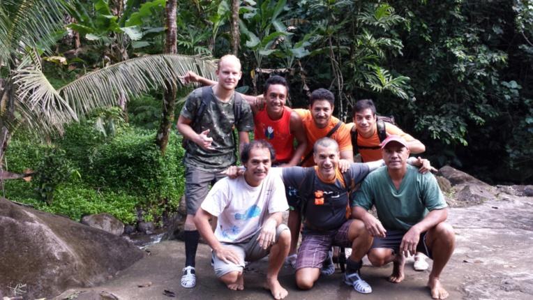 Deux volontaires européens en Polynésie pour la protection de notre environnement