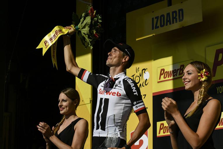 Tour de France - Barguil gagne, Froome résiste dans l'Izoard