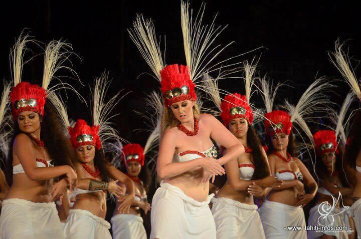 Les danseuses de Nuna'a e hau (crédit : Chicky Tahiti)