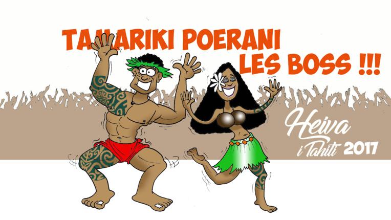 """ Heiva i Tahiti : Tamariki Poerani, the boss ! par Munoz"