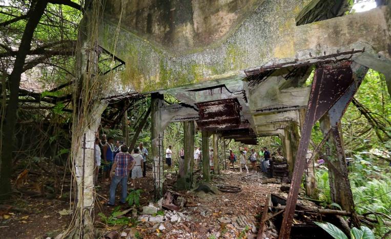 Une étude sur la faune, la flore et la géologie de l'île a été effectuée par le bureau d'études Pae Tai Pae Uta qui met en lumière que la zone concernée est exploitable sans provoquer de dommages sur l'environnement puisque les ravages ont déjà eu lieu par le passé.